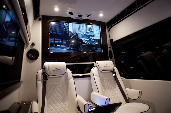 Mercedes Benz Sprinter 2500 Crew Luxury Van Luxury Pictures