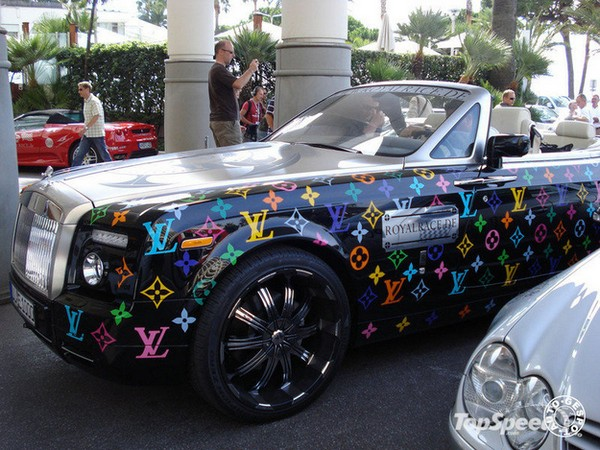 35 Things That Shouldn't Be Louis Vuitton-Monogrammed - Louis Vuitton Rolls Royce photo