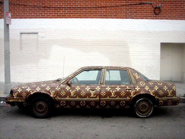 35 Things That Shouldn't Be Louis Vuitton-Monogrammed - Louis Vuitton car photo