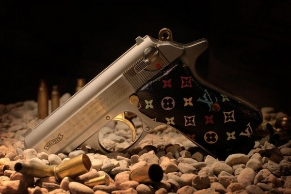 35 Things That Shouldn't Be Louis Vuitton-Monogrammed - Louis Vuitton handgun photo
