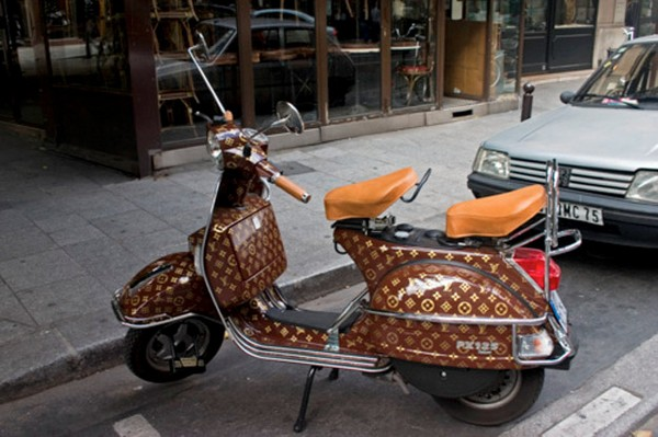 35 Things That Shouldn't Be Louis Vuitton-Monogrammed - Louis Vuitton motorbike photo