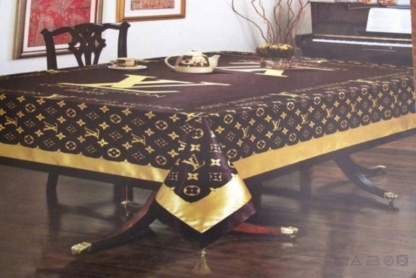 35 Things That Shouldn't Be Louis Vuitton-Monogrammed - Louis Vuitton tablecloths photo