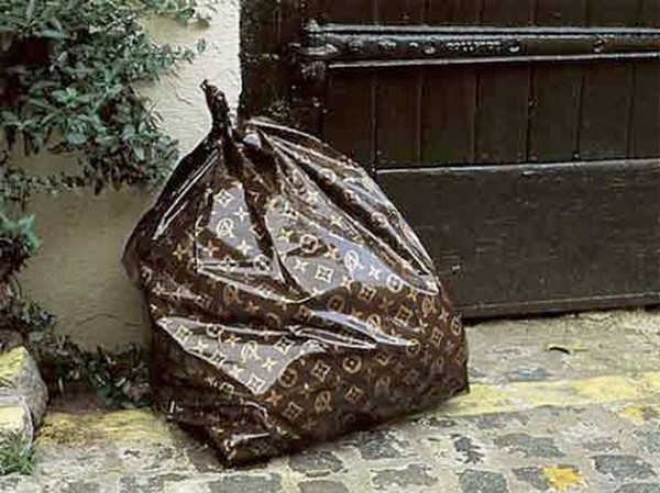 be louis vuitton monogrammed louis vuitton trash bags photo