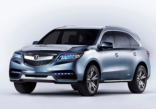 Best 7 Seater Luxury SUVs Everybody Wants   Acura MDX Photo