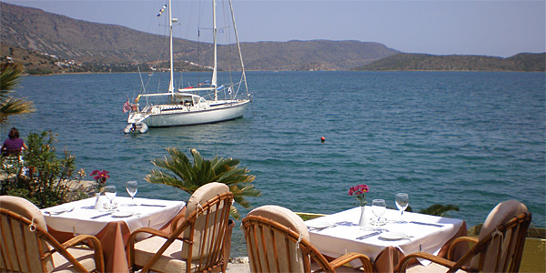 Elounda Gulf Villas, Crete, Greece photo 12 - Lotus Eaters Restaurant in Elounda
