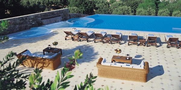 Elounda Gulf Villas, Crete, Greece photo 16 - The suites' seawater pool