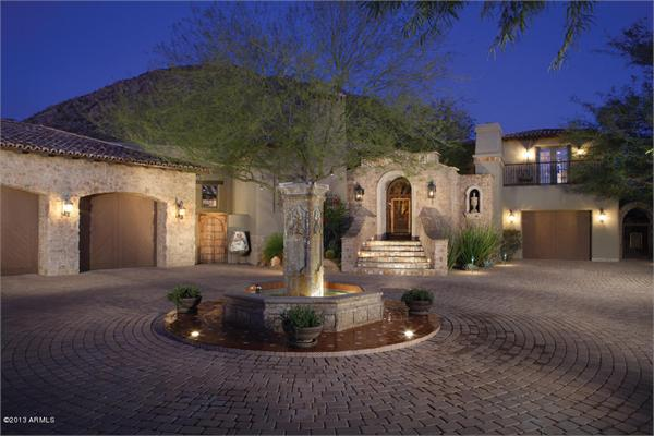 Luxury Homes In Scottsdale Arizona   THE TIMELESS APPEAL OF A EUROPEAN  VILLA Photo 2