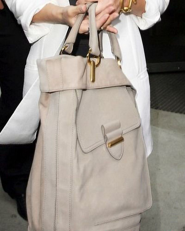 Luxury Trends - Nude Color Handbag - Jessica Alba nude color tote bag photo 2