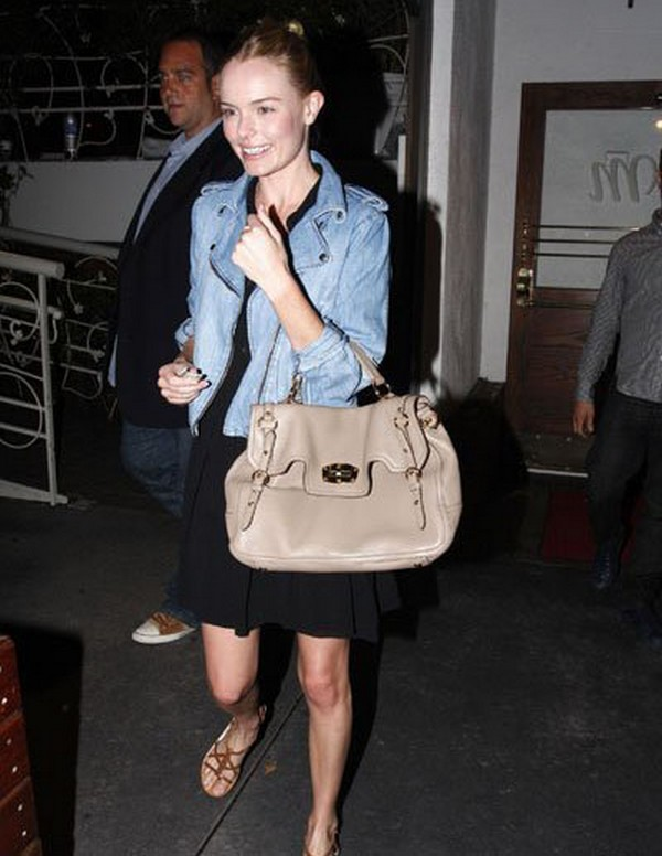 Luxury Trends - Nude Color Handbag - Kate Bosworth miu miu summer series juta deerskin handbag photo 1