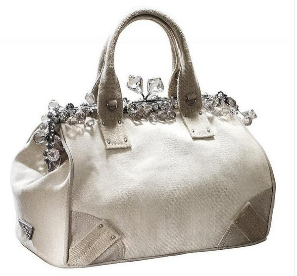 Luxury Trends - Nude Color Prada Handbag photo