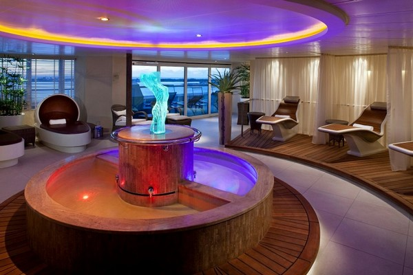 Penthouse Spa Suite, aboard Seabourn Quest