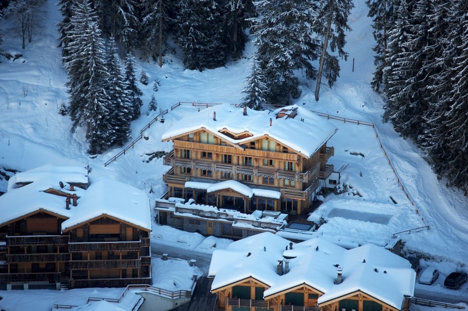 The Lodge Aerial View