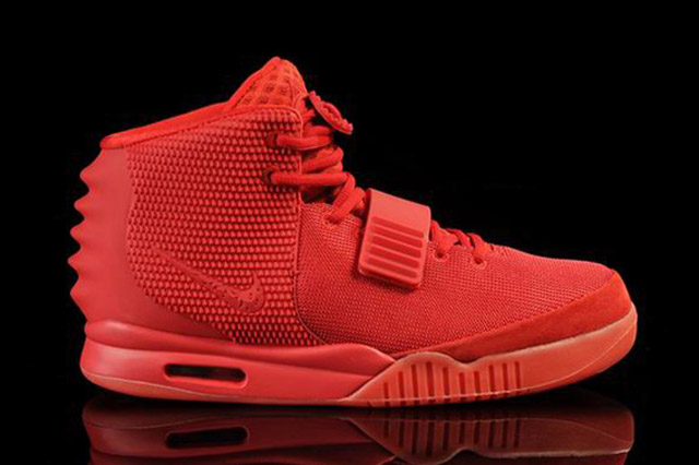 10 of the Most Stupidly Expensive Sneakers Ever - AIR YEEZY 2 (RED OCTOBER) ,000,000