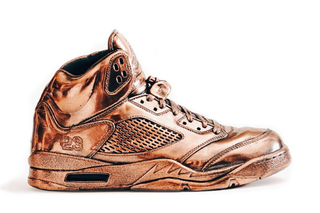 10 of the Most Stupidly Expensive Sneakers Ever - BRONZE AIR JORDANS 50