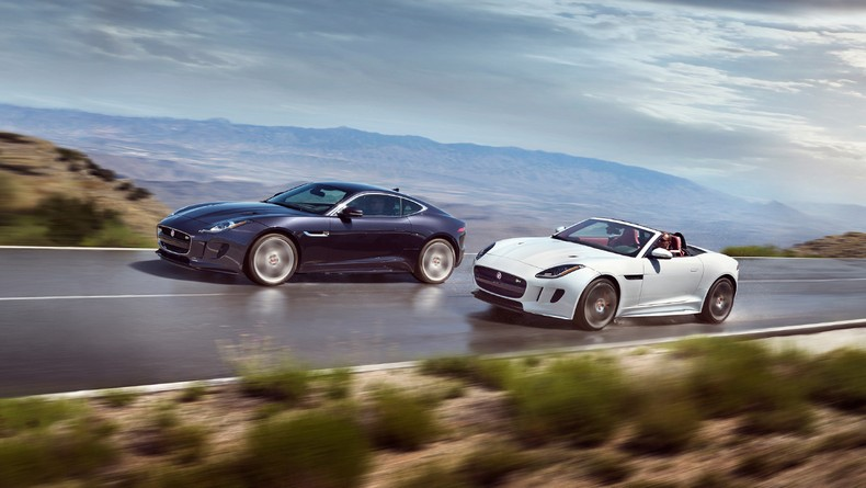 2016 F-TYPE S AWD Coupe and F-TYPE R Convertible