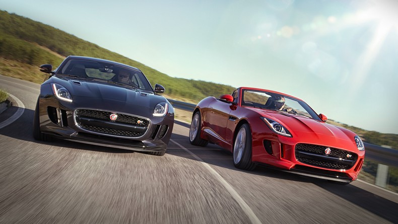 2016 F-TYPE S AWD Coupe and F-TYPE S Convertible with Manual Transmission