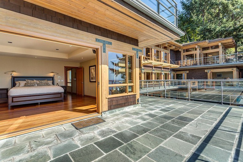,800,000 West Vancouver Palace - the only villa in North America with its own yacht garage 7
