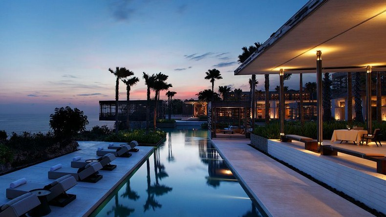 Alila Villas Uluwatu – Indonesia