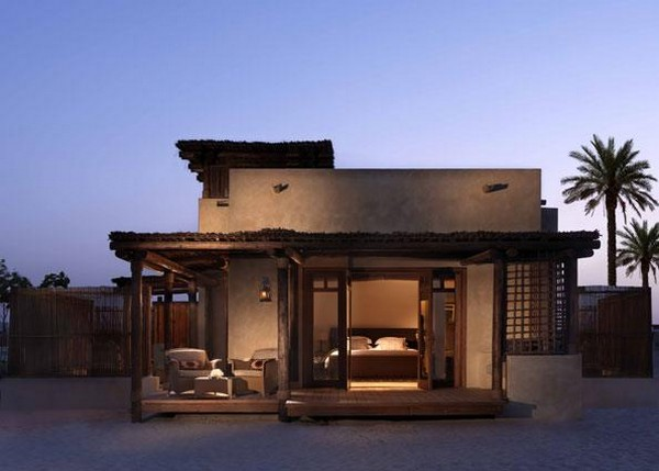 Private oasis amid desert beauty