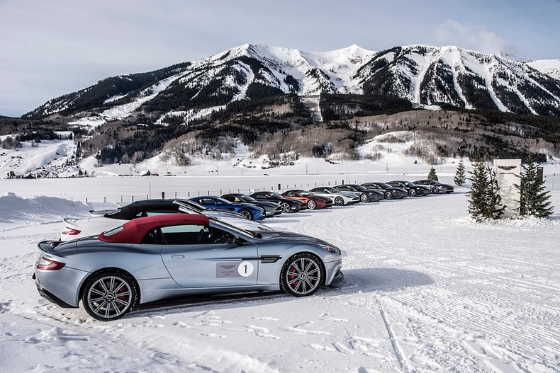 Aston Martin On Ice 2016 in Colorado 6