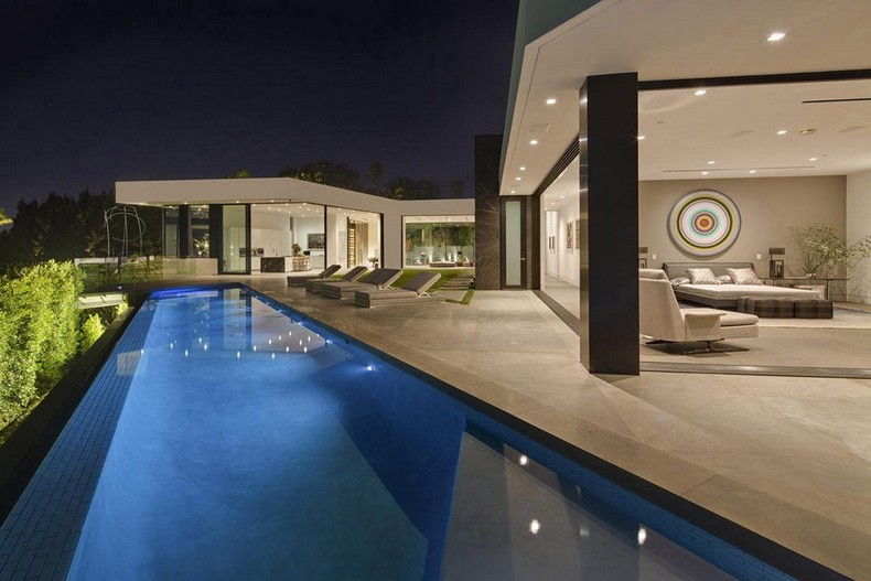 Calvin Klein Buys Beautiful Mansion in Hollywood Hills, Los Angeles for  Millions photo 18