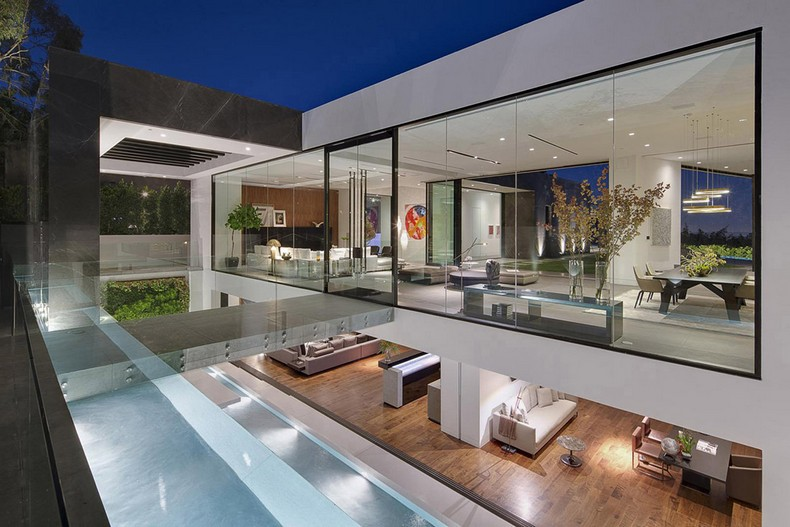 Calvin Klein Buys Beautiful Mansion in Hollywood Hills, Los Angeles for  Millions photo 4