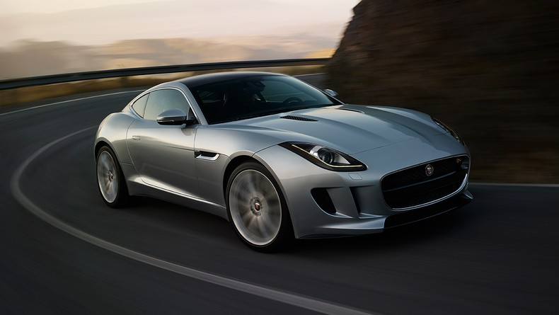 F–TYPE S Coupe in Rhodium Silver