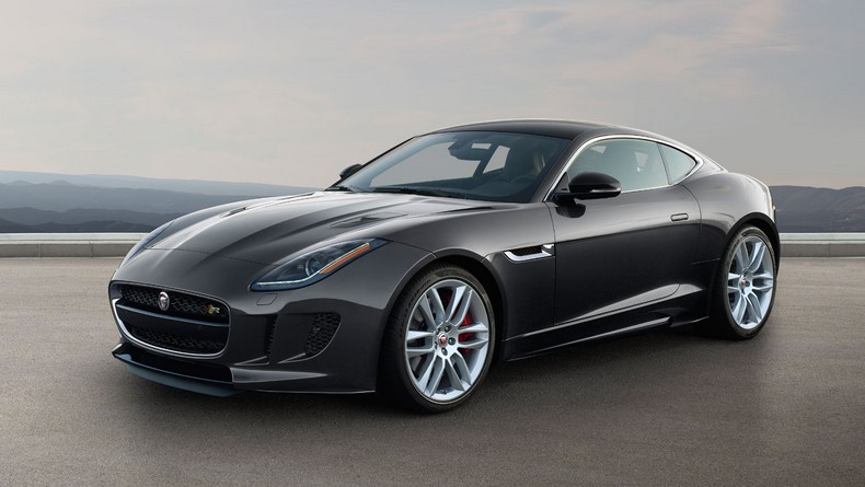 F-TYPE R Coupe with Instinctive All Wheel Drive