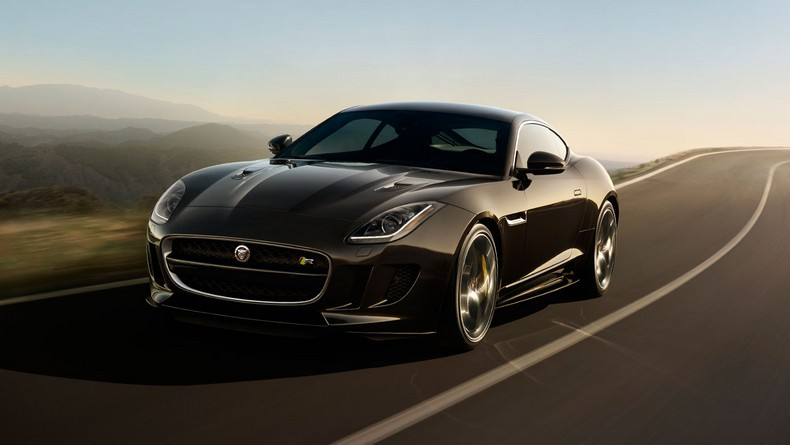F-TYPE R Coupe, with optional Carbon Ceramic Matrix braking system