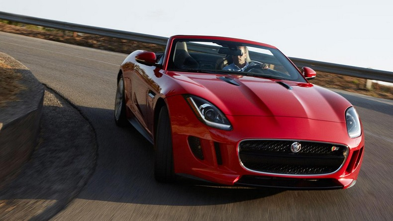 F-TYPE S Convertible - Salsa Red