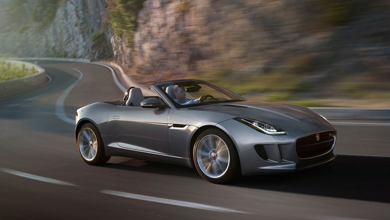 F-TYPE S Convertible in Satellite Grey