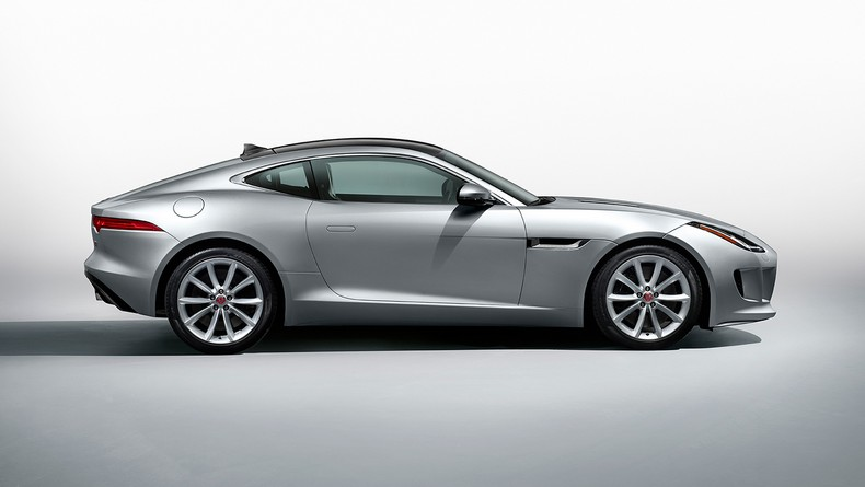 F-TYPE S Coupe in Rhodium Silver