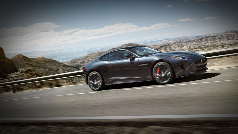 For 2016, the F-TYPE Coupe panoramic roof now comes standard