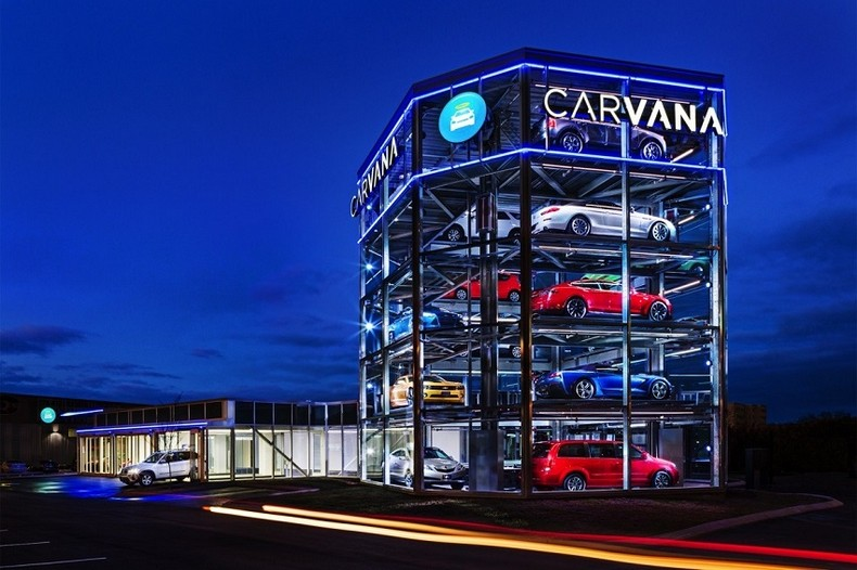 Giant Car Vending Machine 1