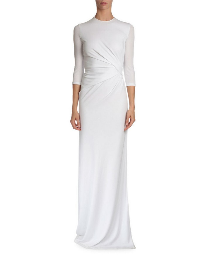 Givenchy 3-4-Sleeve Gown (,950)
