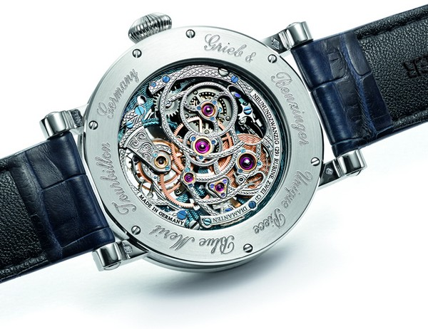 Grieb & Benzinger Customizes the Rare Tourbillon Pour le Mérite by A. Lange & Söhne 2