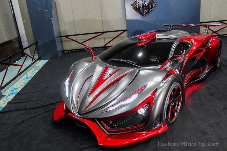 INFERNO - New Super Car With 1,400 HP - Made In Mexico 1