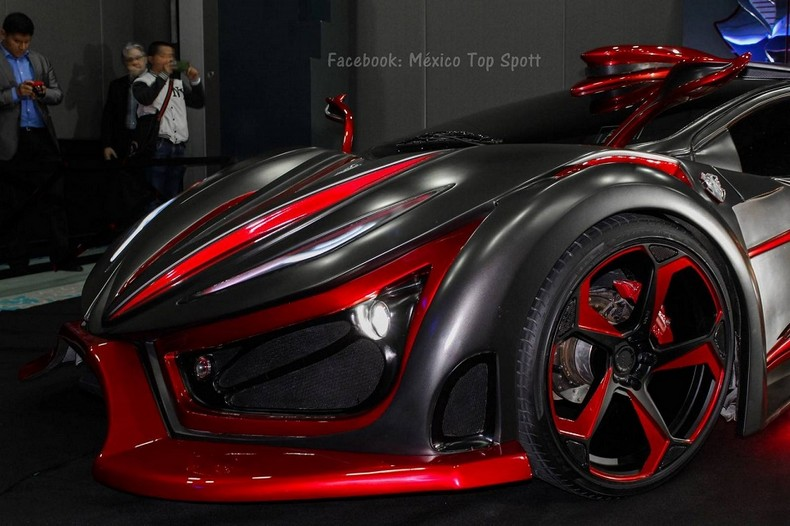 INFERNO - New Super Car With 1,400 HP - Made In Mexico 11