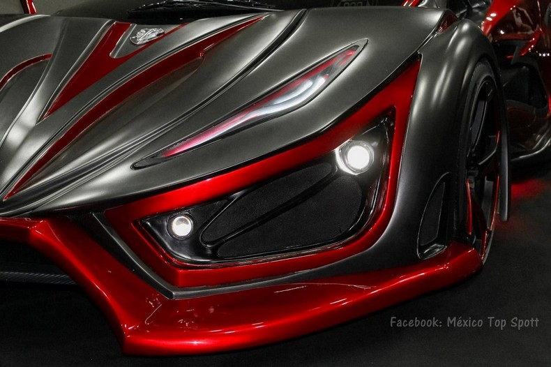 INFERNO - New Super Car With 1,400 HP - Made In Mexico 2