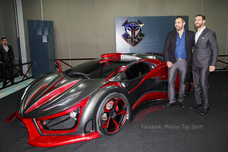 INFERNO - New Super Car With 1,400 HP - Made In Mexico 3