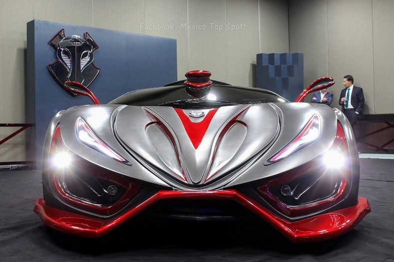 INFERNO - New Super Car With 1,400 HP - Made In Mexico 4
