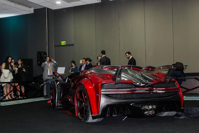 INFERNO - New Super Car With 1,400 HP - Made In Mexico 6