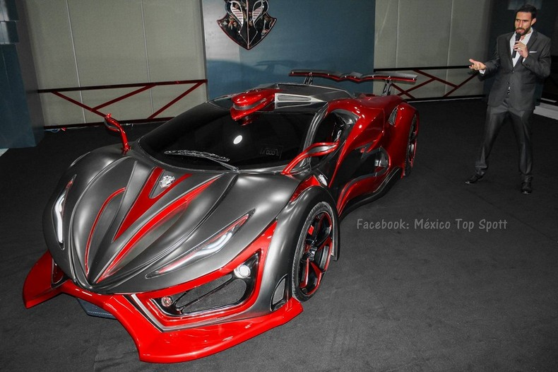 INFERNO - New Super Car With 1,400 HP - Made In Mexico 7