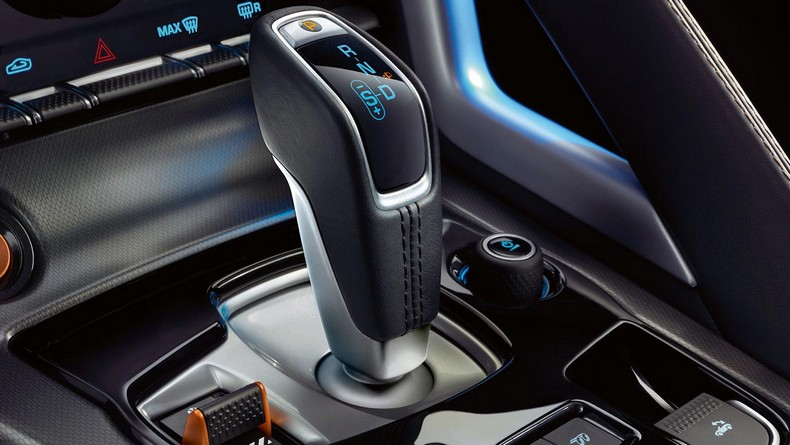 Jaguar SportShift Selector with Dynamic Mode Switch