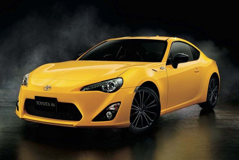 Japan Gets This Cool Toyota 86 Yellow Limited Edition photo 1