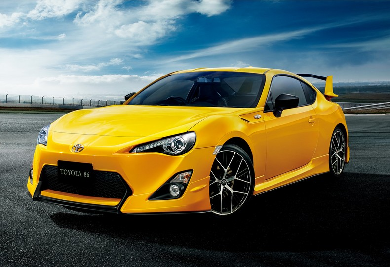 Japan Gets This Cool Toyota 86 Yellow Limited Edition photo 7