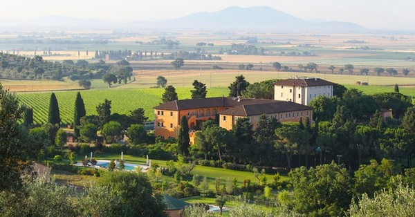 L'Andana Luxury Hotel in Grosseto, Tuscany, Italy photo 1