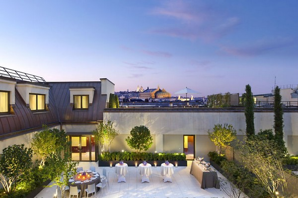 Mandarin Oriental Paris Hotel 6th Floor Terrace - Wedding Venue photo