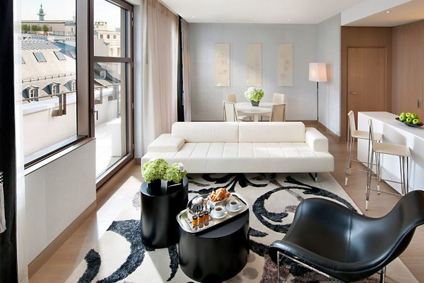 Mandarin Oriental Paris Hotel Couture Suite Living Room photo 2