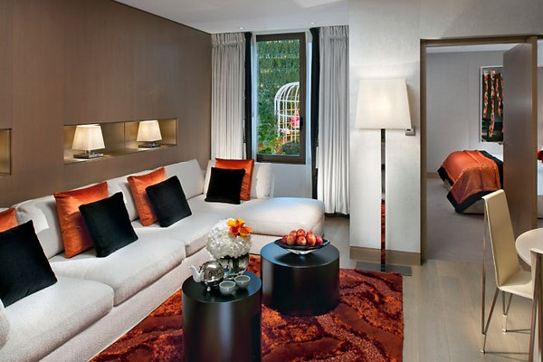 Mandarin Oriental Paris Hotel Couture Suite Living Room photo